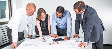 Projektmanagement und technische Beratung