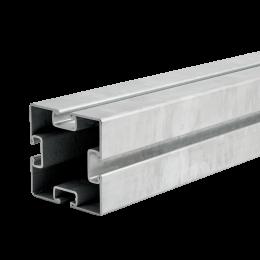 MPT-Tragprofil Q100 4-Schlitz Q100-2,5 4-Schlitz
